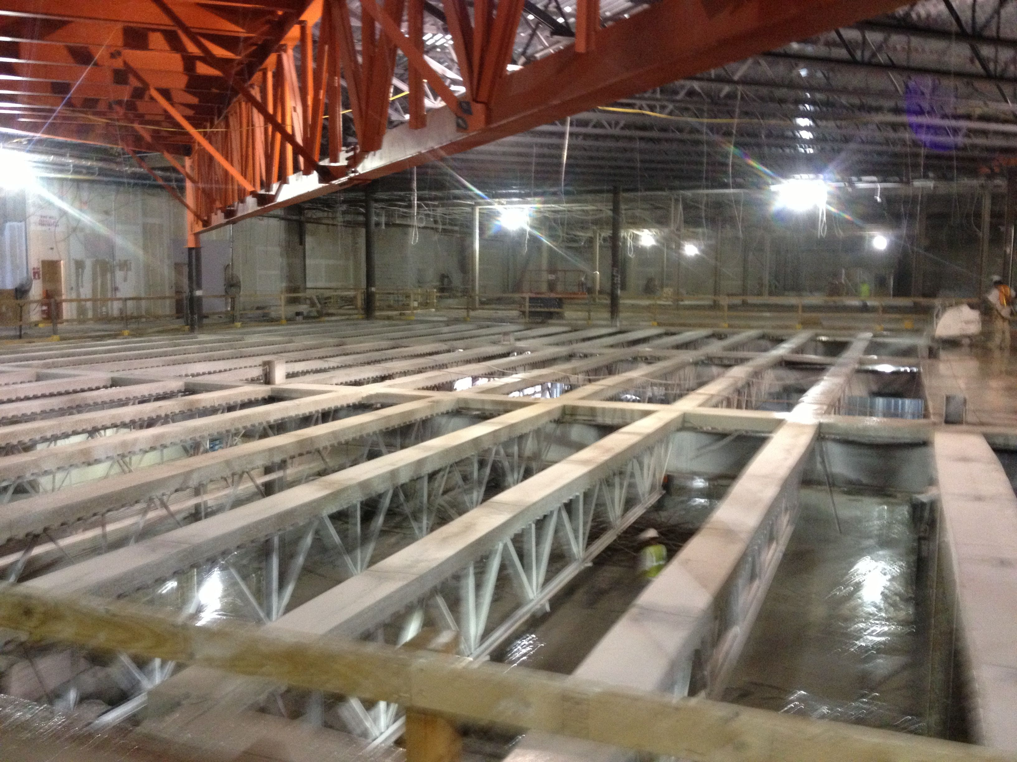 Interior Structural Elevated Concrete Deck Removal